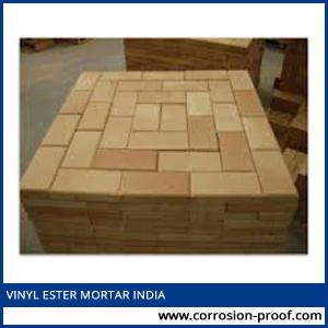 vinyl ester mortar india