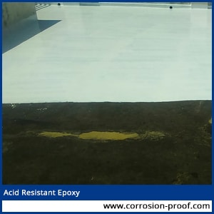 acid resistant epoxy mortar