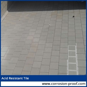 Acid Resistant Tiles Battery Room